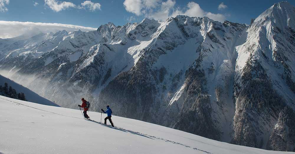 Mayrhofen - Skiwanderung im herrlichen Tiefschnee