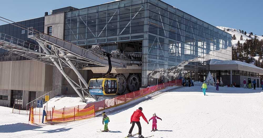 Mayrhofen - Liftanlagen mit Kinderpisten