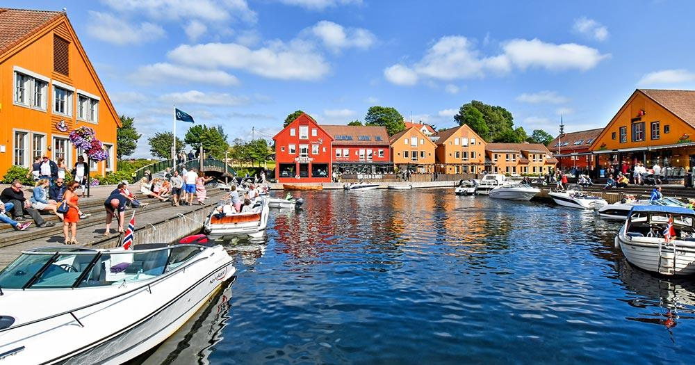 Kristiansand / Kristiansand in Norwegen