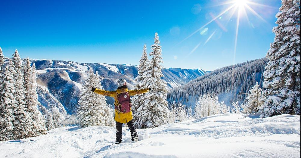 Aspen - Perfektes Winterwetter