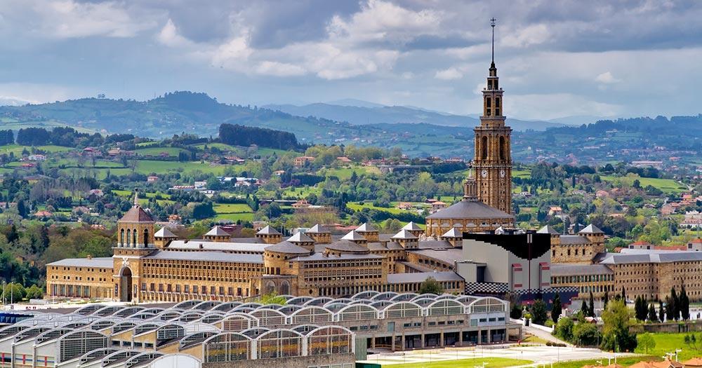 Gijón / alte Universität von Gijón