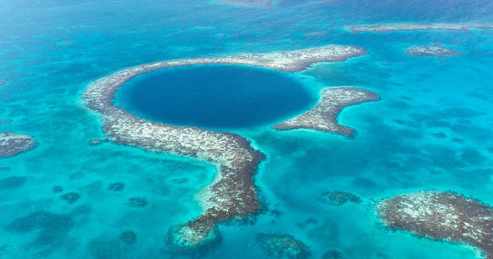 Belize / Blaues Loch in Belize
