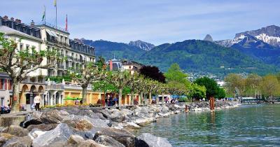 Vevey - Vevey in der Schweiz