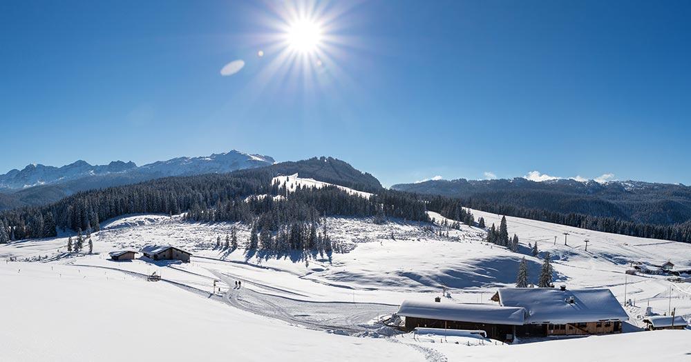 Winklmoosalm - Herrliches Winterwetter