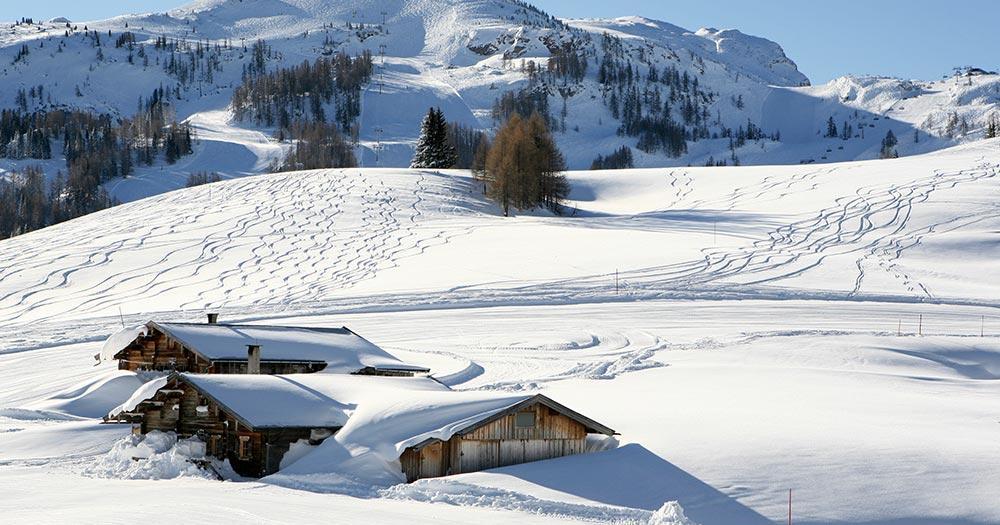 Winklmoosalm - Verschneite Winterlandschaft
