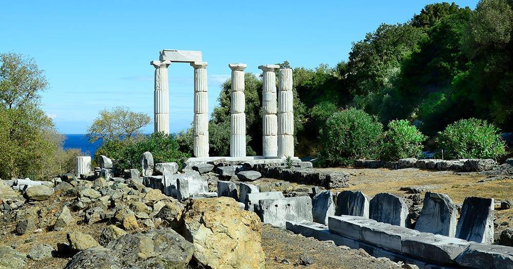 Samothraki - Griechenland, Insel Samothraki