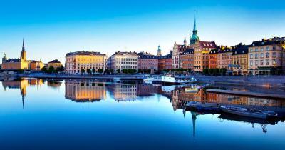Staatliches Historisches Museum Stockholm / die Altstadt von Stockholm