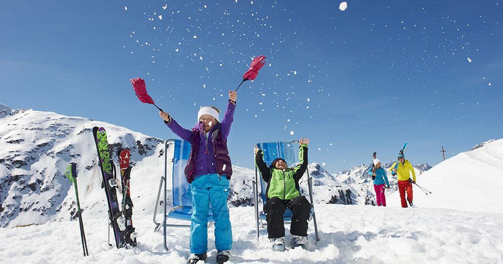 Ski Arlberg -  Kinder Winterspaß