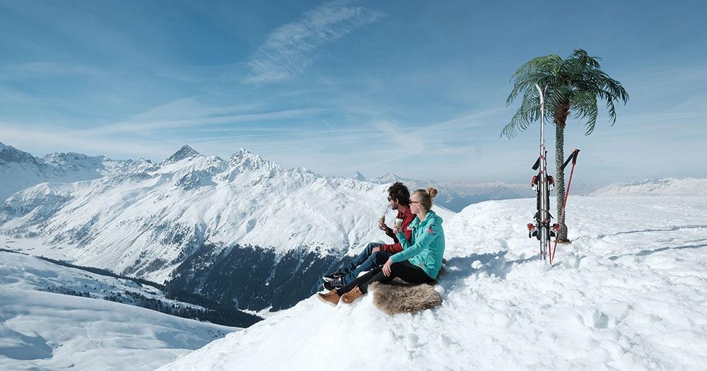 Davos - Aprés Ski mit perfekter Aussicht