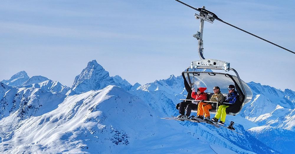 Davos - Auf den Berg mit modernsten Liftanlagen