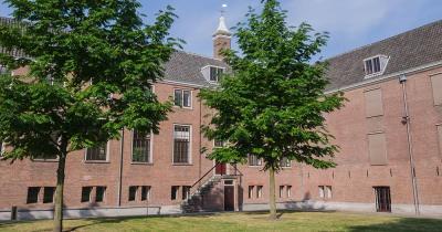 Hermitage Amsterdam / der Innenhof des Hermitage Amsterdam