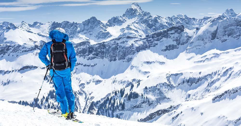Oberjoch - Blick auf die Allgäuer Alpen