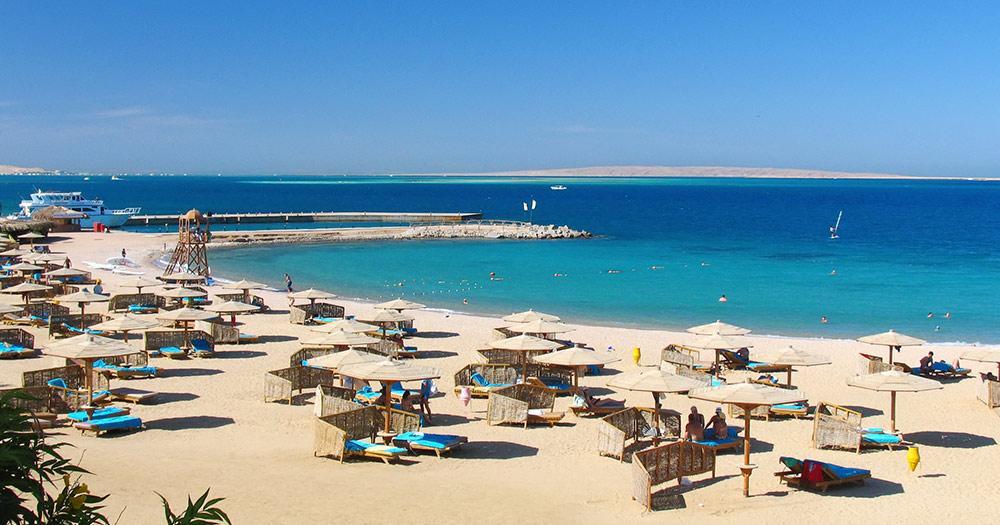 Ägypten - ein Strand am roten Meer