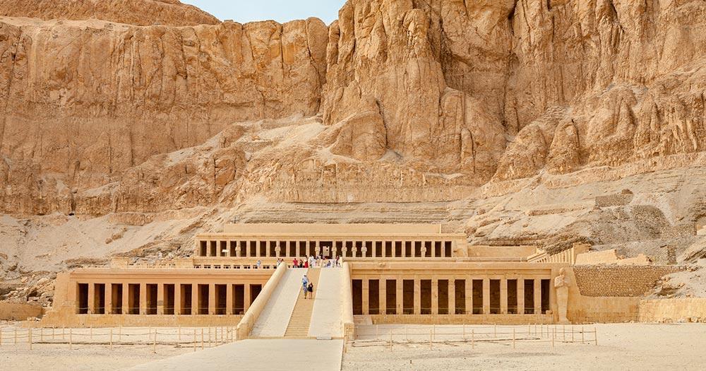 Tal der Könige Pharaonengräber & Grabkammern - Tempel der Hatschepsut