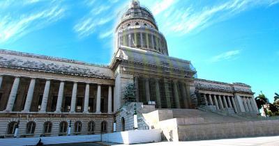 El Capitolio  - Nahaufnahme des Kapitols