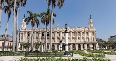 Gran Teatro de La Habana - Fernaufnahme des Gran Teatro de La Habana