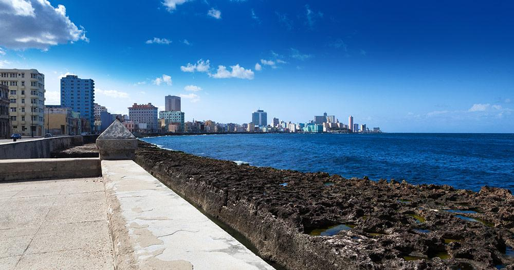 El Malecon  - El Malecon in Havanna