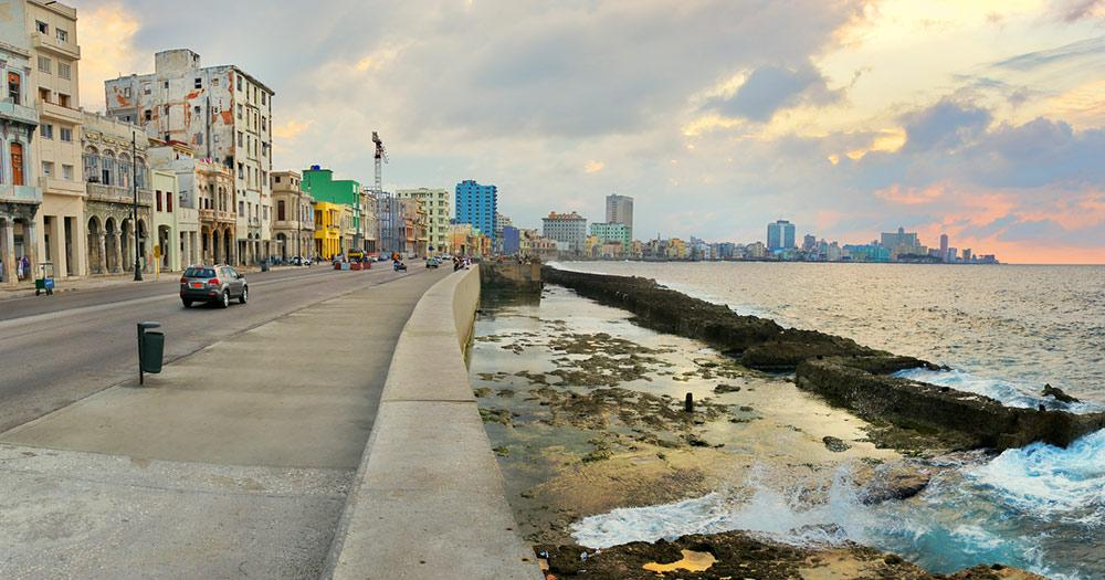 El Malecon  - Panorama am Wasser in Havanna