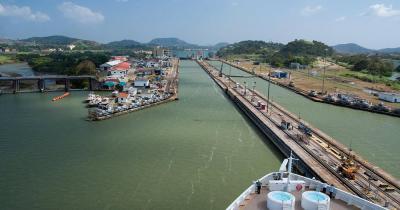 Panamakanal - Atlantischer Eingang des Panamakanals