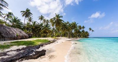 San Blas Inseln - wunderschöner Sandstrand in San Blas Inseln