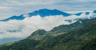 Vulkan Baru - Panoramablick vom Vulkan Baru