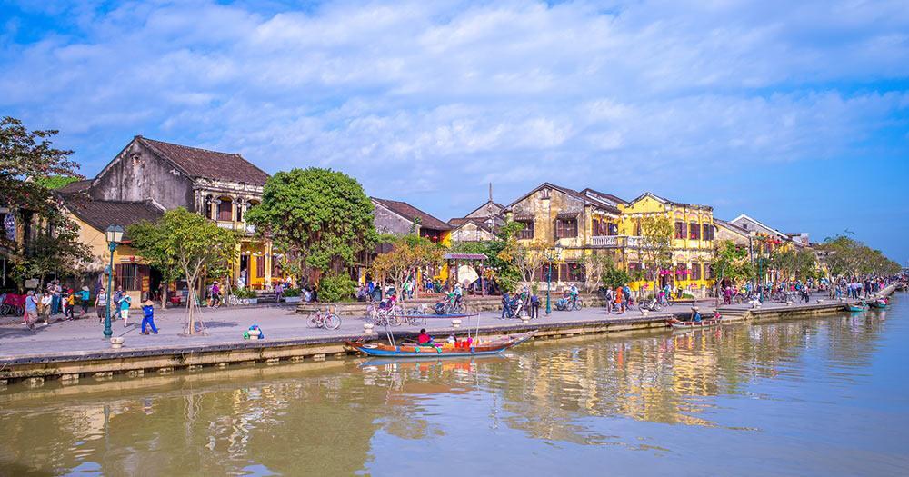 Vietnam - Landschaft von hoi eine antike Stadt, Vietnam