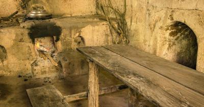 Tunnel von Cu Chi - ein Raum in den Cu Chi Tunneln