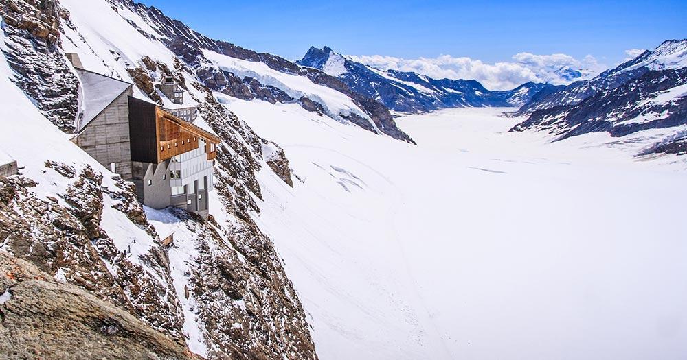 Aletsch - Arena - Blick auf den Gletscher