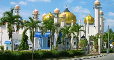 Langkawi - Al-hana Moschee in Langkawi