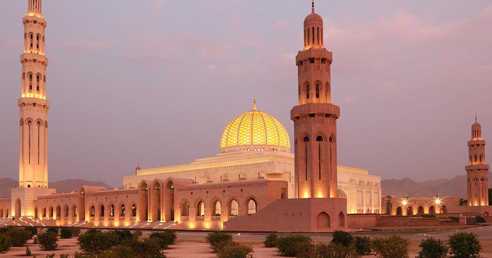 Oman - Sultan Qaboos große Moschee in Muscat, oman