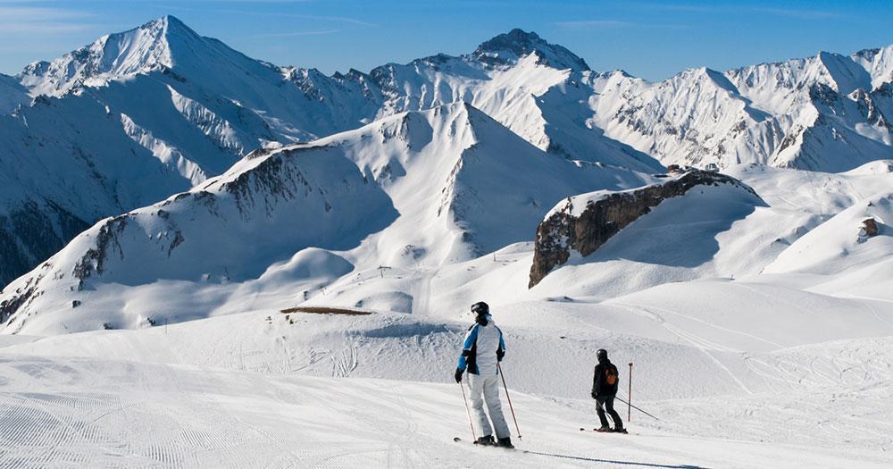 Samnaun - Perfekte Schneebedingungen
