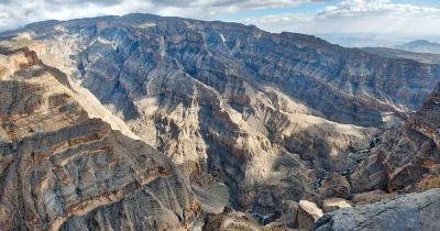 Dschabal Schams - Dschabal Schams in Oman