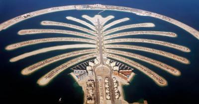 Palm Islands - Luftaufnahme