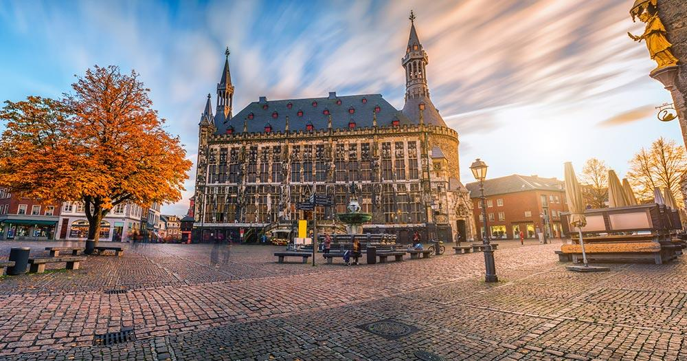 Aachen - Das Rathaus