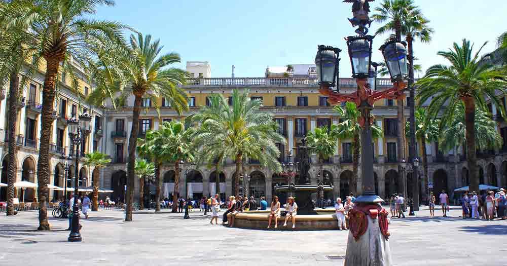 Barcelona - Parkansicht