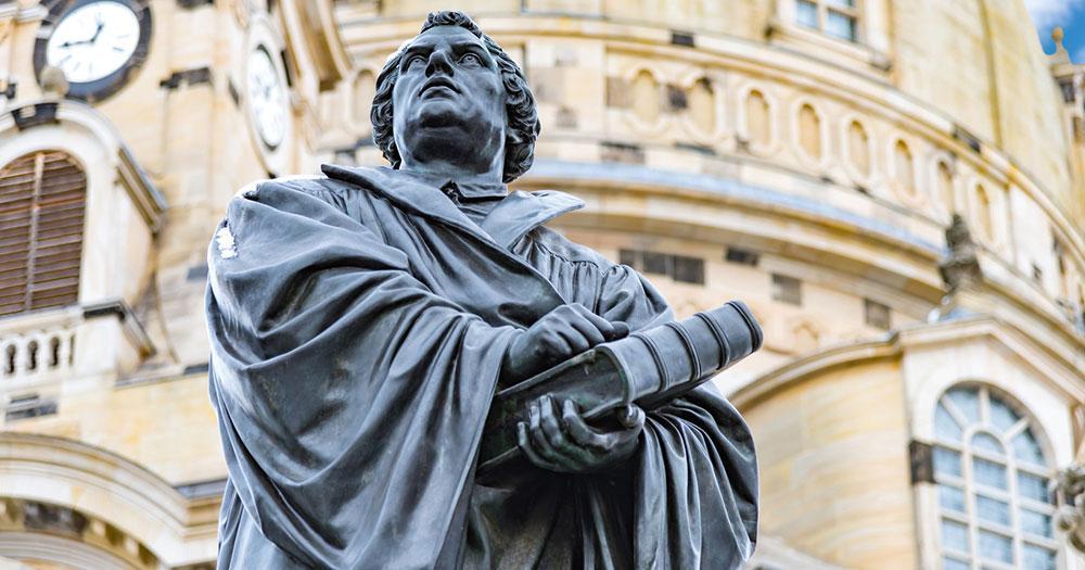 Dresden - Martin Luther Denkmal
