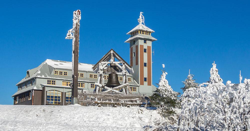 Klinovec - Fichtelberg Station