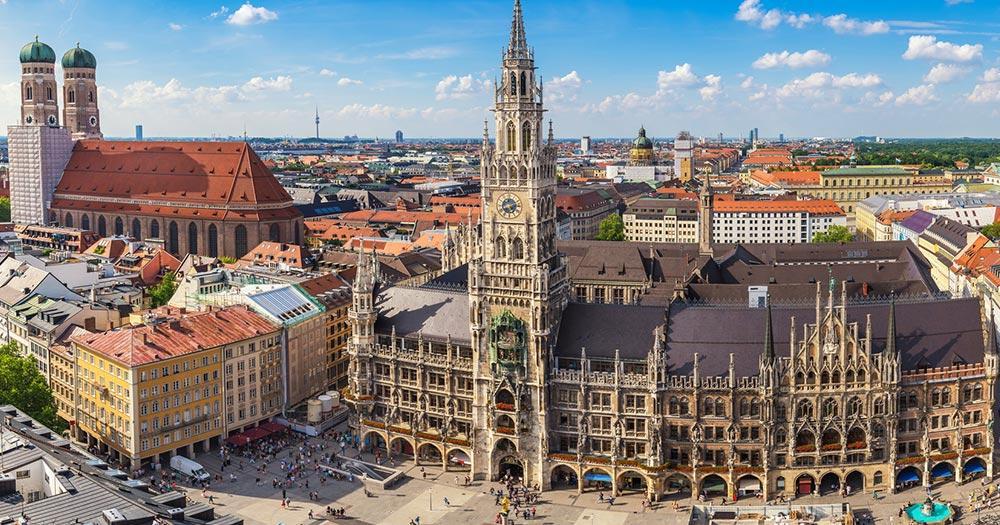 München - Marienplatz von München