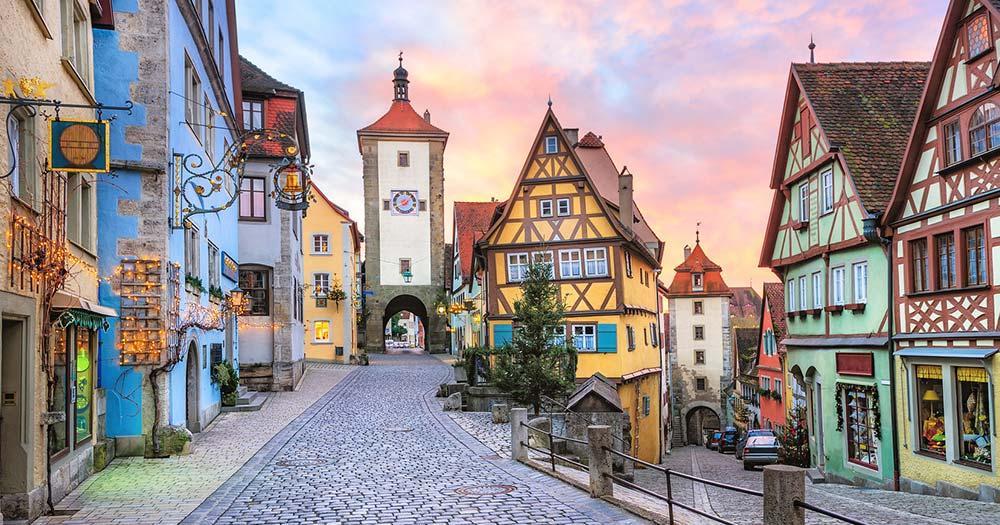Rothenburg ob der Tauber - die malerische Altstadt