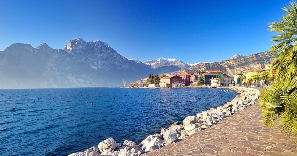 Mit dem Auto durch Italien - der Gardasee