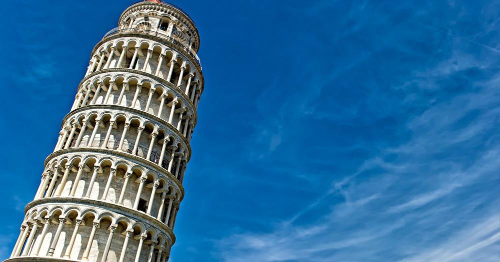 Der schiefe Turm von Pisa - Der schiefe Turm von Pisa