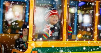 Münchner Christkindlmarkt - Kinderaugenleuchten zu Weihnachten