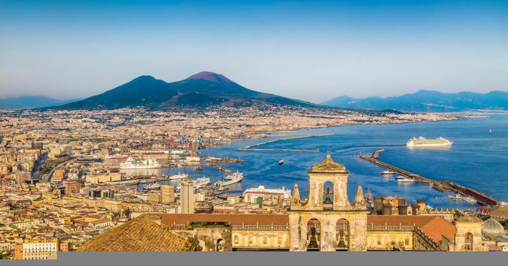 Naples - View of the city