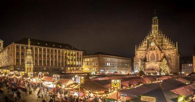Nürnberger Christkindlesmarkt - Die Frauenkirche von Nürnberg