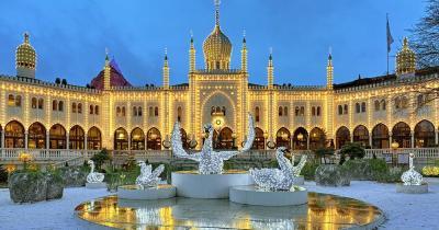Weihnachtsmarkt Tivoli - Moorish Palast im Tivoli Garten