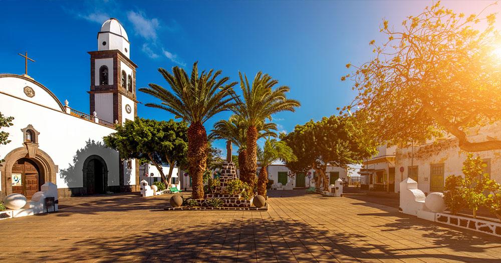 Lanzarote - Kirche San Gines in Arrecife