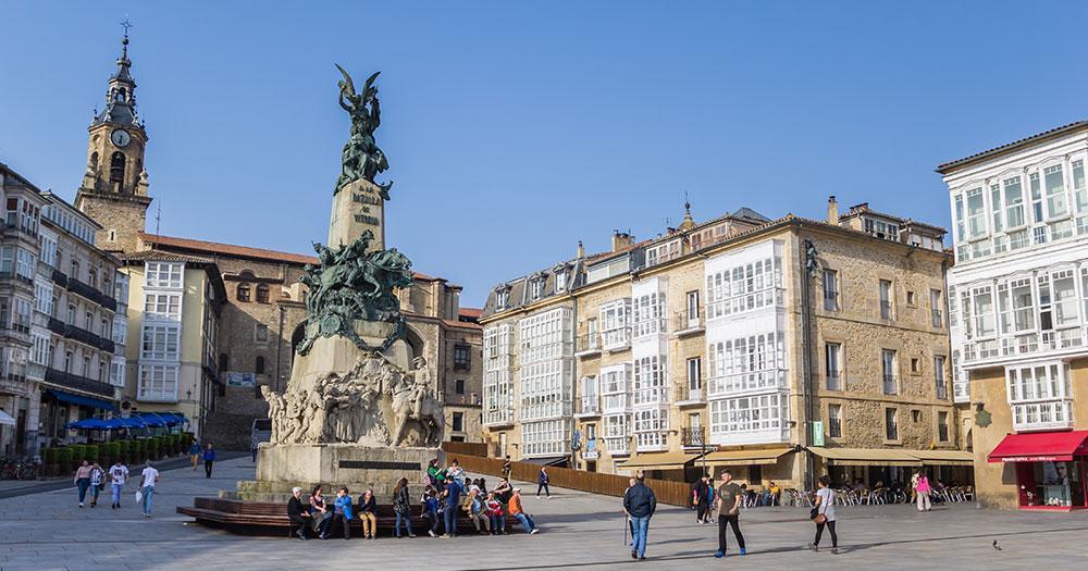 Vitoria-Gasteiz - Denkmal an die Napolionischen Kriege
