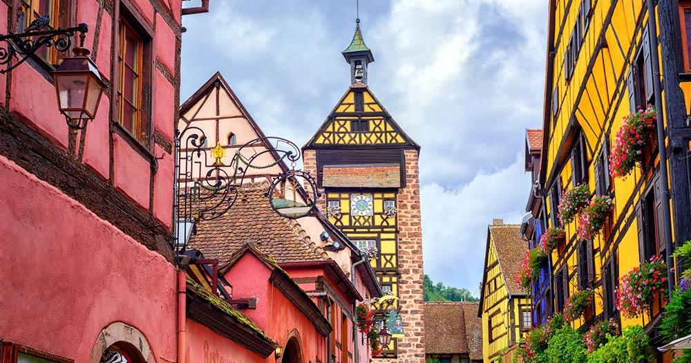 Colmar - Die Altstadt von Colmar