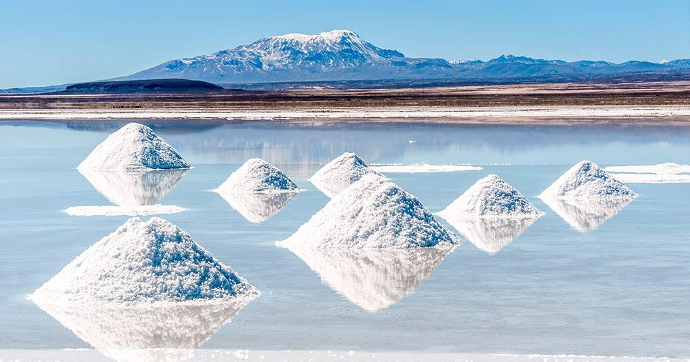 Der Salar de Uyuni - Der größte Salzsee der Welt - Salzgewinnung