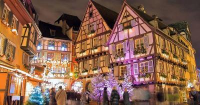 Weihnachtsmarkt Colmar - Weihnachtliche Altstadt von Colmar